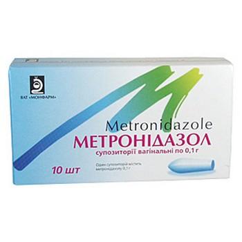 Свечи с метронидазолом
