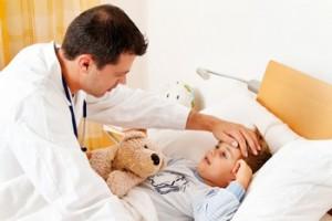 Лечение вирусного заболевания у ребенка
